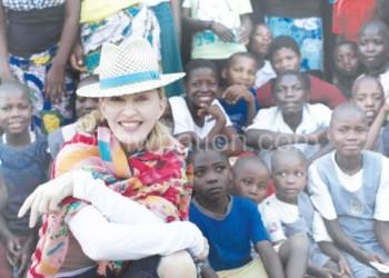 Pop star Madonna adopted David at an orphanage in Mchinji