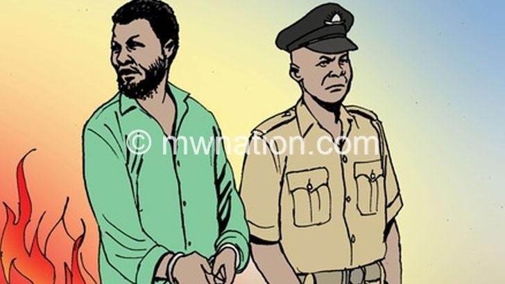 An artist's illustration of an arrest   The Nation Online