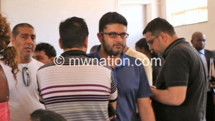 Zameer Karim in blue | The Nation Online