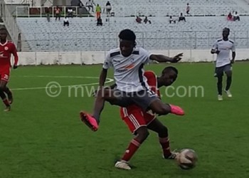 Bullets Reserve (in red) taking on Be Forward Wanderers Reserves in a recent league encounter