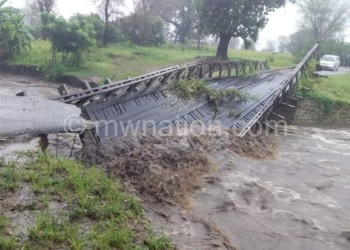 Floods caused destruction to infrastructure such as roads and bridges