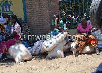 Farmers buy Fisp fertiliser in this file photo