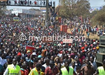 Malawians in Lilongwe protest against irregularities in May 2019 presidential election