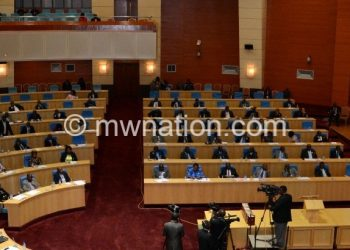 Legislators transctions business in Parliament