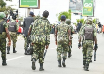 Police officers have been ordered to enforce Covid-19 guidelines