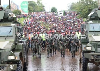 During May 21 post election protests, Malawians turned to MDF for protection