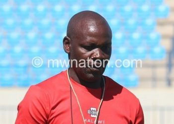 Mwase: We do not have any other option