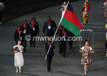 Malawi Olympic team at the 2012 London Olympic Games