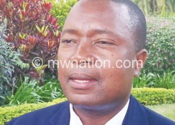 One of the hopefuls: Kabambe
