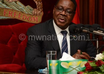 Mutharika: Stay calm