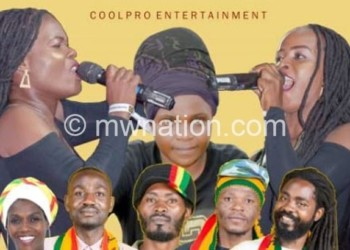 Working together: Solid Rocks Band and CoolPro Empresses
