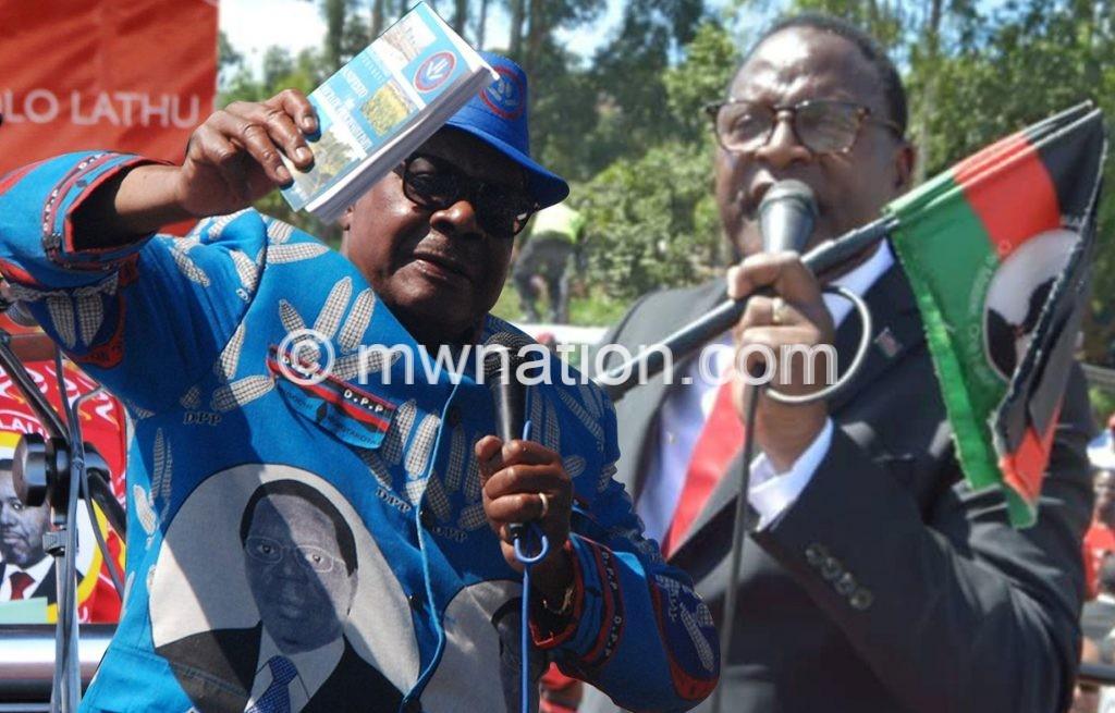 Mutharika and chakwera | The Nation Online