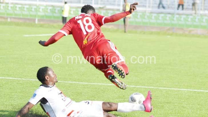 Nyasa Bullets striker Brighton Munthali | The Nation Online