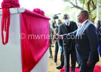 Mutharika made the pledge last week