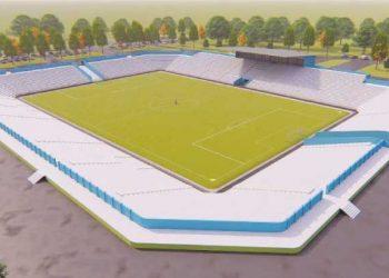 Artistic impression of Nomads Stadium