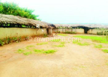 The school had indescript structuresThe school had indescript structures