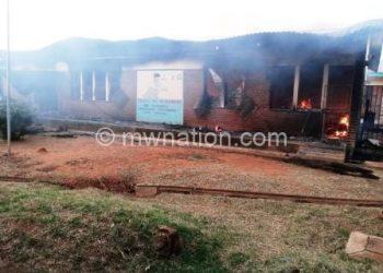 Balaka Hospital fire 1 | The Nation Online