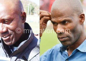 Set for the challenge: Mabedi (L) and Msakakuona