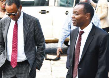 Mpinganjira (L) during an earlier court visit