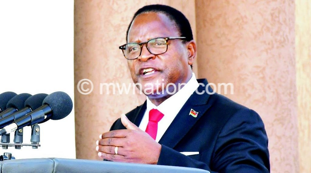 chakwera 8 | The Nation Online