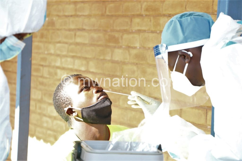 A health worker | The Nation Online