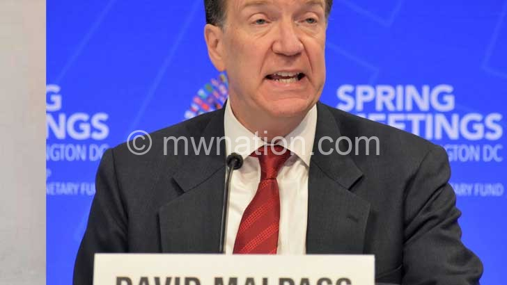 David Malpass | The Nation Online