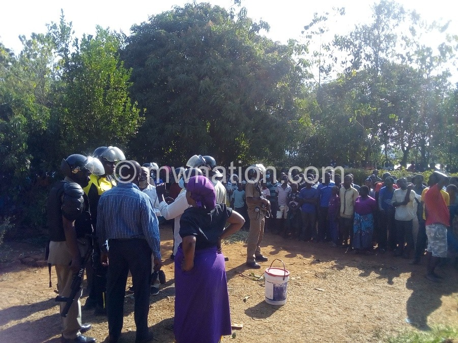Police intervene in the fracas in Duswa Village | The Nation Online