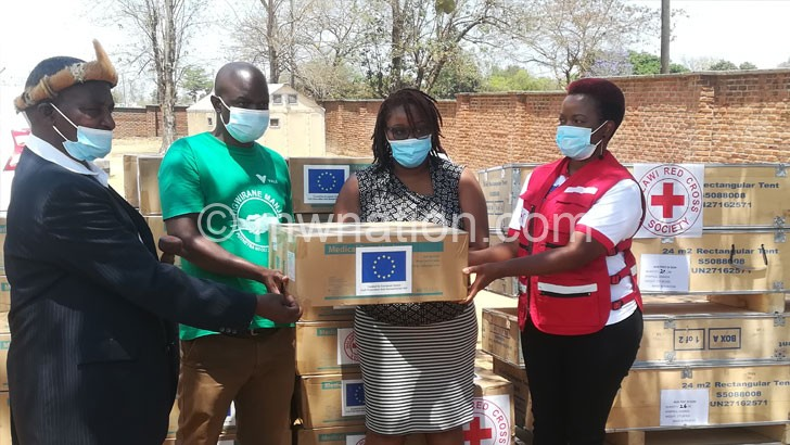 red cross donation | The Nation Online