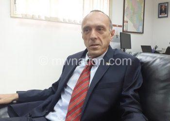 Israeli envoy Oded Joseph recently  met Chakwera