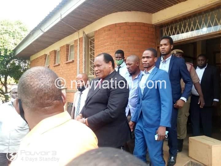 ULADI MUSSA WAMANGIDWA | The Nation Online