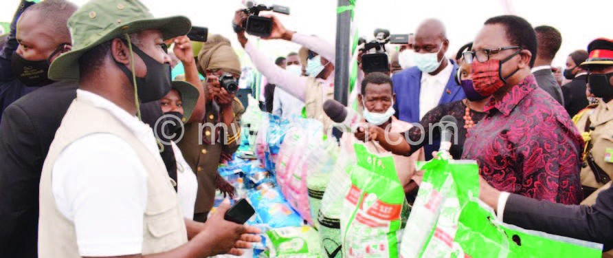 chakwera fertilizer | The Nation Online