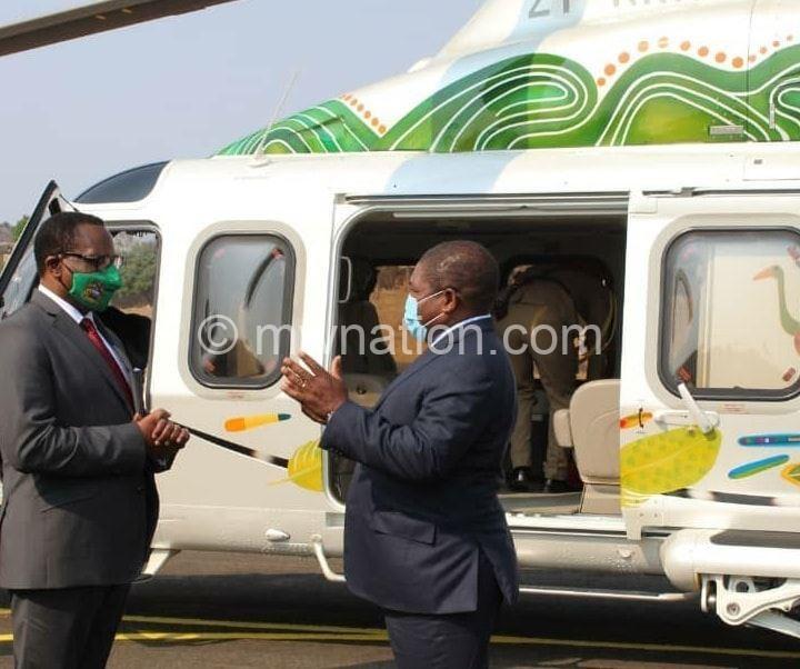 chakwera mozambique   The Nation Online