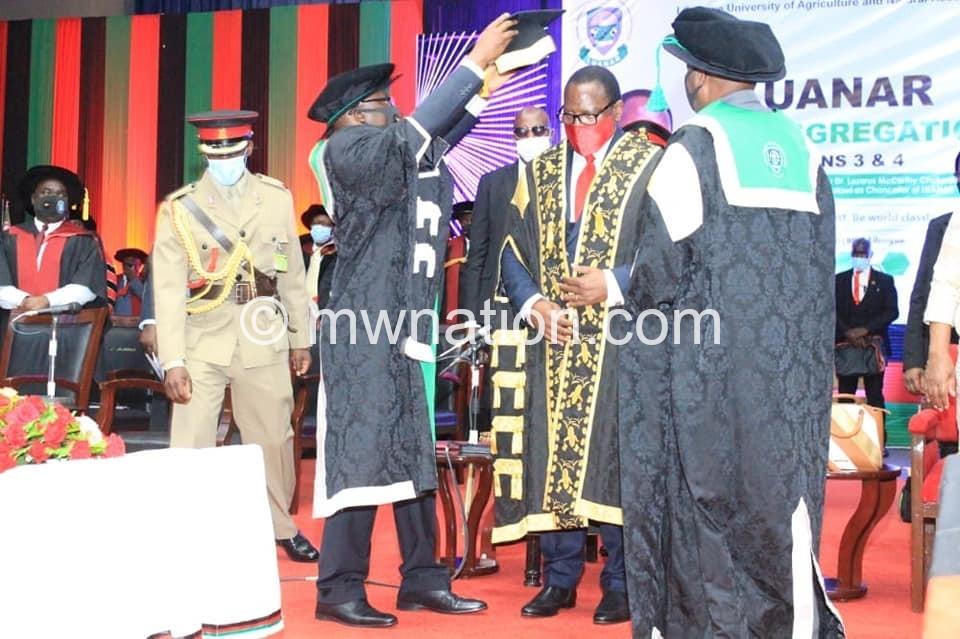 chakwera luanar   The Nation Online