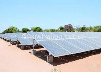 The solar plant powering Likoma Island
