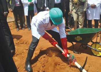 Chakwera launches security institutions' staff housing project at Ipyana in Karonga in 2020