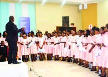Lilongwe Community Choir captured in rehearsal