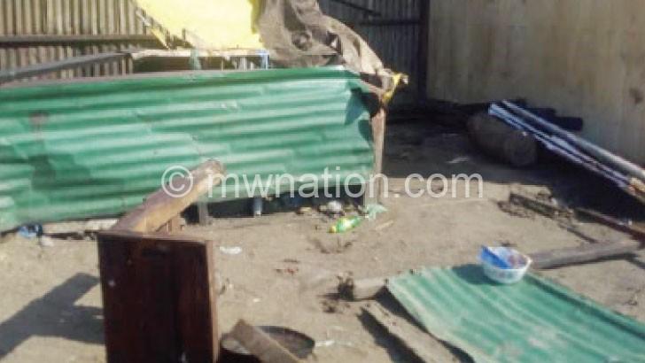 demolished stalls | The Nation Online