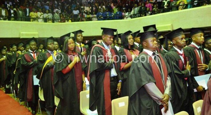 Chancellor College graduation   The Nation Online