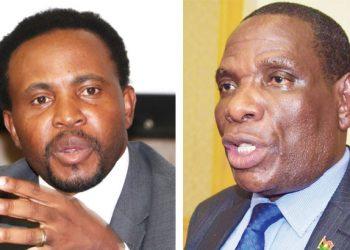 Co-chaired the task force: Phuka (L) and Mwanamvekha