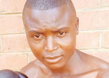 Malawi Defence Force (MDF) boxer Simeon Tcheta