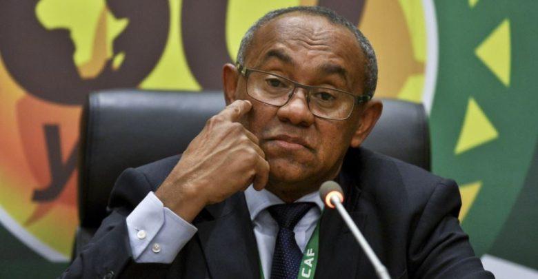 CAF President Ahmad Ahmad e1603918503642   The Nation Online