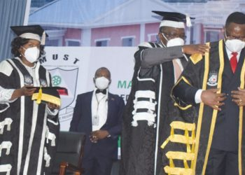Chakwera being installed as Must chancellor