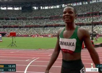 Simwaka captured during Tokyo Olympic Games in Japan