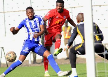 Mighty Wanderers and Nyasa Big Bullets in action on Sunday