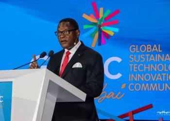 Chakwera speaks during the plenary on Sunday